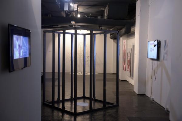 Izgled postavke izložbe Telo kao režim